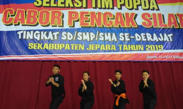 Pencak Silat Skalsain Ikut POPDA Kabupaten 2019