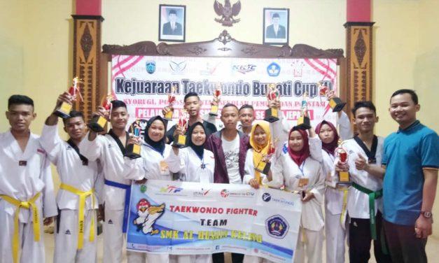 Taekwondo Skalsain Juara Bupati Cup 2019
