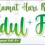 Keluarga Besar SMK Al Husain Keling Mengucapkan Selamat Hari Raya Idul Fitri 1440 H
