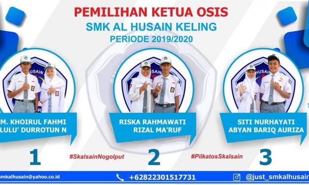 Pelantikan Pengurus OSIS Periode 2019/2020