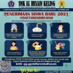 PENDAFTARAN SISWA BARU TP. 2021/2022